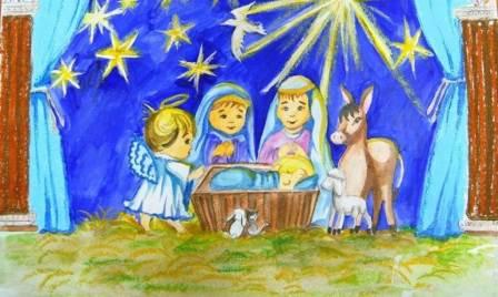 Краевой конкурс детского творчества «Под Рождественской звездой»