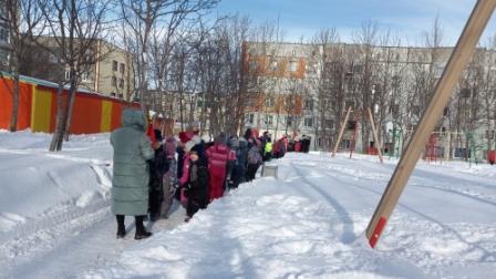 Тренировочная эвакуация воспитанников